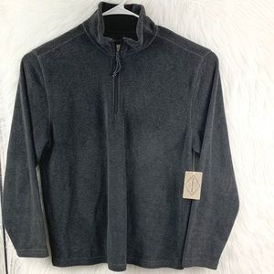 St. John's Bay Half Zip Pullover Fleece Jacket NWT